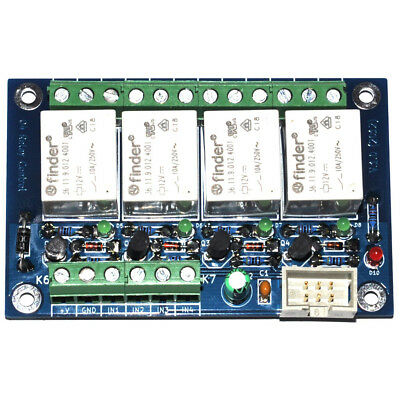 24V General purpose 4 channel relay card/board - FINDER Relays