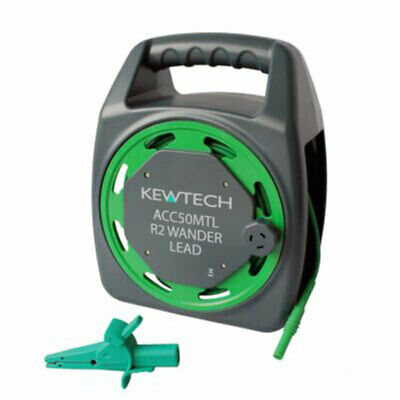 Kewtech ACC50MTL R2 Earth Test Lead Extension Wander Lead 50Metres Fluke-Metrel