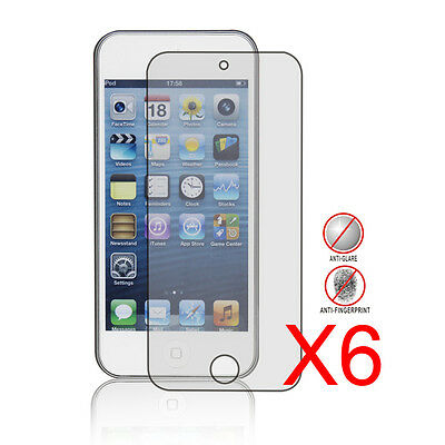 Apple iPod Touch (5th Latest Generation) Anti-Glare(Matte) Screen Protector-6pcs