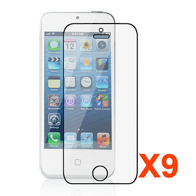 Apple® iPhone® 5 Premium High Definition (HD) Clear Screen Protector [9-Packs]