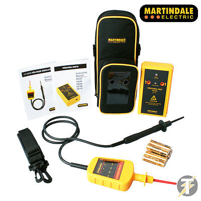 Martindale VIPD138 PD440 Proving Unit, VI13800 Voltage Indicator, TC69 Case