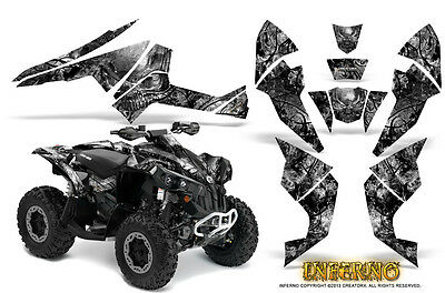 Can-Am Renegade Graphics Kit by CreatorX Decals Stickers INFERNO S