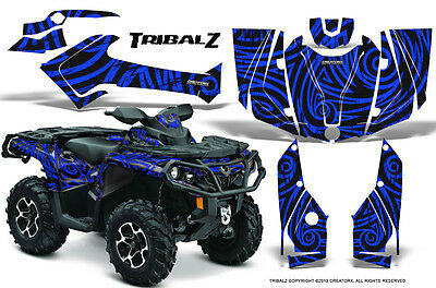 Can-Am Outlander 800 1000 R Xt 12-16 Graphics Kit Creatorx Decals Stickers Tzbl