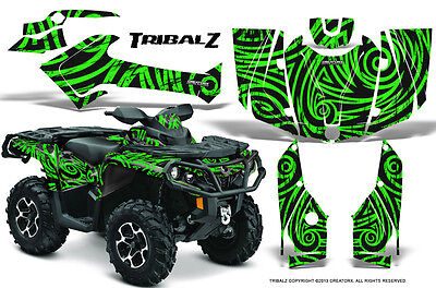 Can-Am Outlander 800 1000 R Xt 12-16 Graphics Kit Creatorx Decals Stickers Tzg