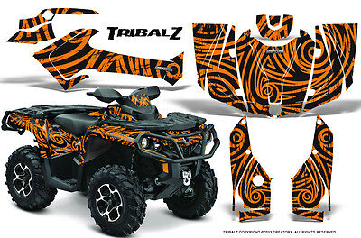 Can-Am Outlander 800 1000 R Xt 12-16 Graphics Kit Creatorx Decals Stickers Tzo