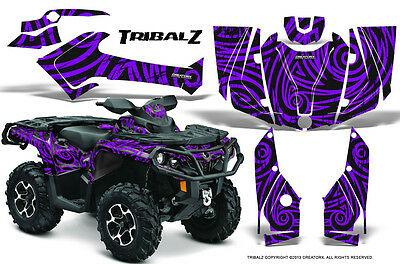 Can-Am Outlander 800 1000 R Xt 12-16 Graphics Kit Creatorx Decals Stickers Tzpr