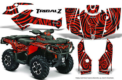 Can-Am Outlander 800 1000 R Xt 12-16 Graphics Kit Creatorx Decals Stickers Tzr