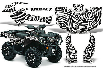 Can-Am Outlander 800 1000 R Xt 12-16 Graphics Kit Creatorx Decals Stickers Tzw