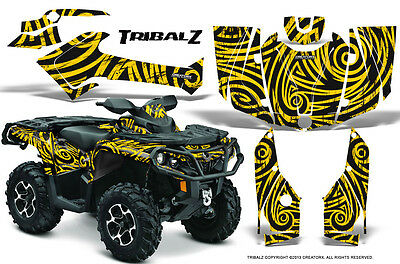 Can-Am Outlander 800 1000 R Xt 12-16 Graphics Kit Creatorx Decals Stickers Tzy