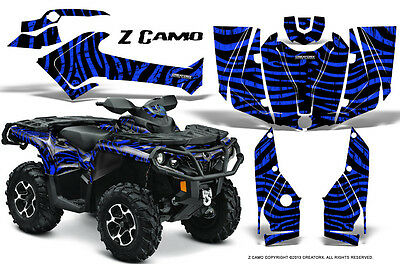 Can-Am Outlander 800 1000 R Xt 12-16 Graphics Kit Creatorx Decals Stickers Zcbl
