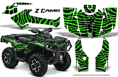 Can-Am Outlander 800 1000 R Xt 12-16 Graphics Kit Creatorx Decals Stickers Zcg