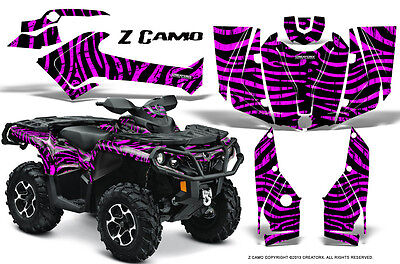 Can-Am Outlander 800 1000 R Xt 12-16 Graphics Kit Creatorx Decals Stickers Zcp