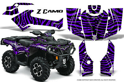 Can-Am Outlander 800 1000 R Xt 12-16 Graphics Kit Creatorx Decals Stickers Zcpr