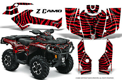 Can-Am Outlander 800 1000 R Xt 12-16 Graphics Kit Creatorx Decals Stickers Zcr