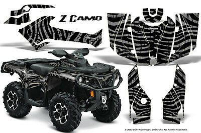 Can-Am Outlander 800 1000 R Xt 12-16 Graphics Kit Creatorx Decals Stickers Zcs