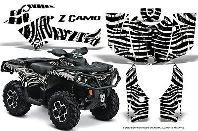 Can-Am Outlander 800 1000 R Xt 12-16 Graphics Kit Creatorx Decals Stickers Zcw