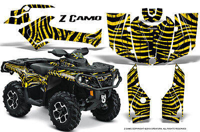 Can-Am Outlander 800 1000 R Xt 12-16 Graphics Kit Creatorx Decals Stickers Zcy