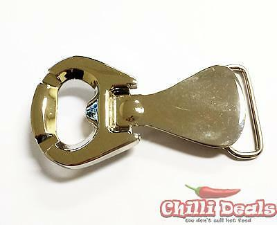 Chrome Bottle Opener novelties Diecast belt buckle