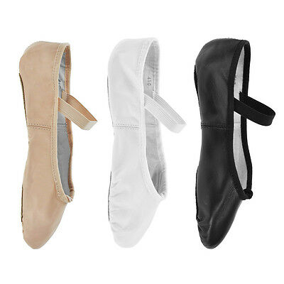 Bloch '209' Arise Leather Ballet Shoes - Black, Pink or White