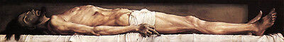 Dream-art Oil painting Holbein Hans The Body of the Dead Christ in the Tomb 36""
