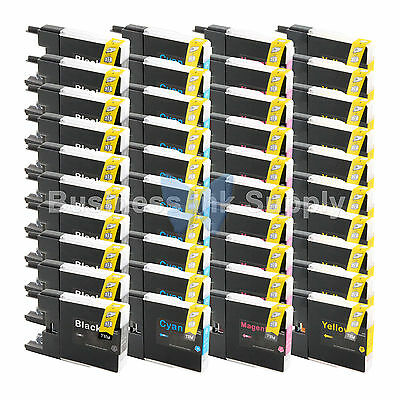 40 PACK LC71 LC75 Ink Cartridge for Brother MFC-J5910DW MFC-J625DW MFC-J6510DW