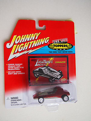 Johnny Lightning COMMUTER  KB Toys Exclusive THE LOST TOPPERS