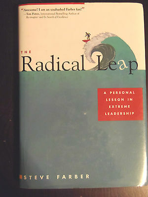 The Radical Leap by Steve Farber (haardcover) store#2714