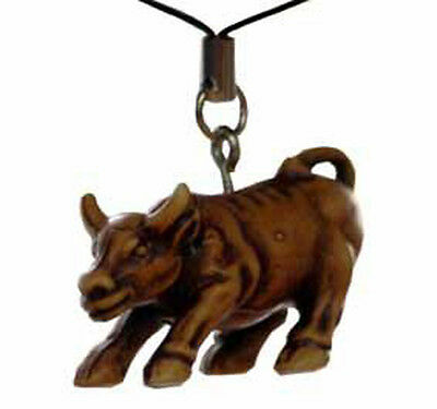Brown OX Pendant Hanging for Conscientious  Effort and Hard Work  (HH018)
