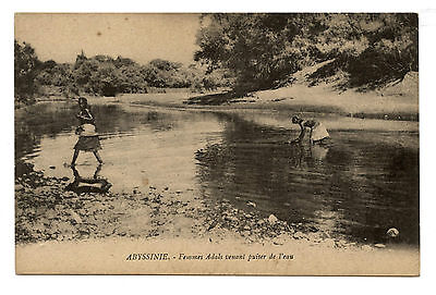 Abyssinie.adal Women Comming To Draw Water.abyssinia.ethiopia.femmes Adals.