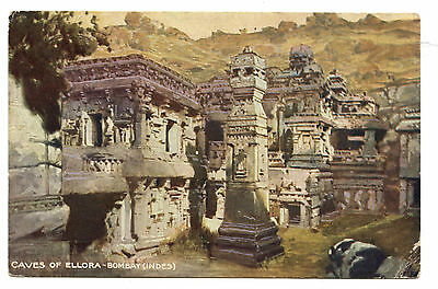 India.archaeology.caves Of Ellora Bombay.architecture Rupestre Indienne.grottes.