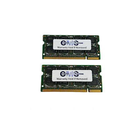 2GB (2x1GB) COMPATIEL WITH Dell Latitude D610 Laptop Memory RAM DDR2