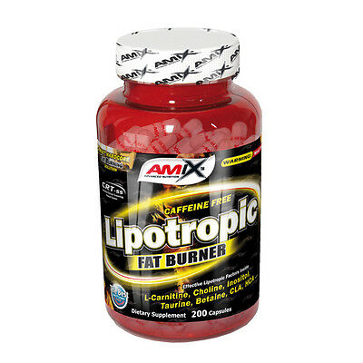Lipotropic Fat Burner 200 Capsulas Amix Nutrition