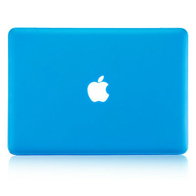 NEW Rubber Coated Hard Case Cover for Apple MacBook Pro13.3'' w/Retina -Sky Blue