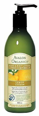 Avalon Lemon Hand & Body Lotion 350ml