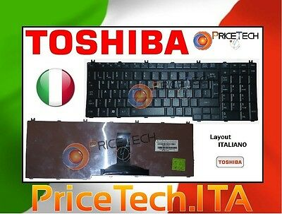 Tastiera layout ITA Keyboard per notebook TOSHIBA Satellite Pro s500-14t * NUOVA