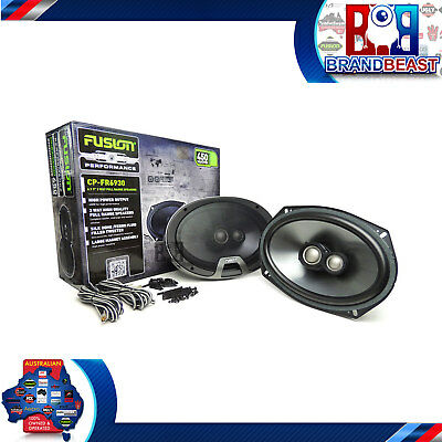 """Fusion Performance Cp-fr6930 Car Stereo Speakers 6x9 Inch 6 X 9"""" 450w 3 Way Coax"""