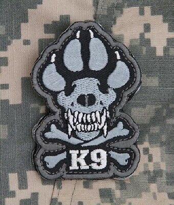 K-9 Tactical Combat Isaf Dogs Of War Oef Oif Badge Morale Military Patch