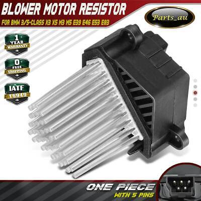Heater Blower Motor Resistor for BMW 3 & 5 Series E39 E46 E53 64116923204