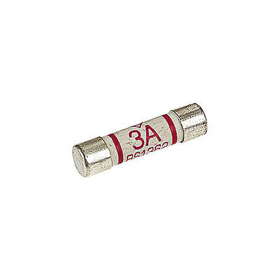 3a Domestic Fuses Plug Top Household Mains 3amp Cartridge Fuse choose quantity