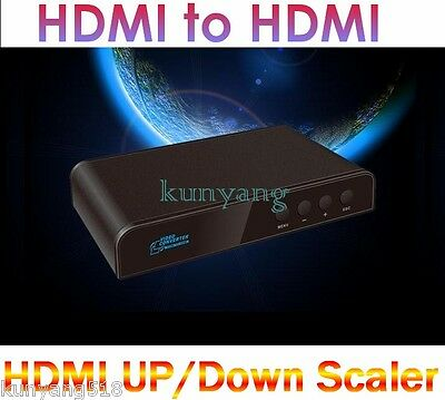 New HDMI to HDMI Converter,HDMI Mirror UP/Down Scaler,Audio Separation&Mixing