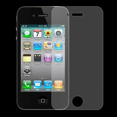 5 x Anti-Glare LCD Screen Protectors Cover w/lint-free cloth for iPhone 5
