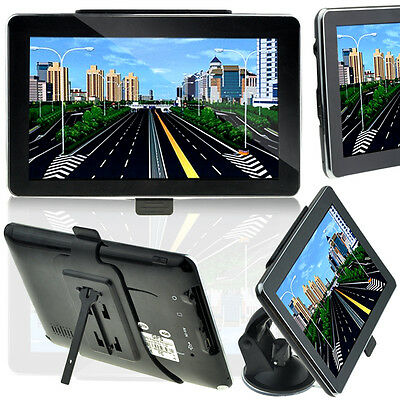 7 Inch Windows CE 6.0 Built-in 4GB Touch screen GPS Navigator with FM Transmitte