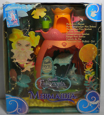 Barbie 2005 Retired Mermaidia Fairytopia Merfairies Play Set European Misp