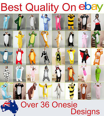 Animal Onesies Kid Teenage Adult Unisex Kigurumi Cosplay Costume Pyjamas Pajamas