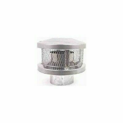 American Metal Round Triple Wall 8 Inch Chimney Vent Pipe Cap 8HS-RCS