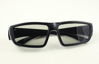 1 Pair Black Adults High Quality Passive 3D Glasses Passive TVs LG Cinema RealD