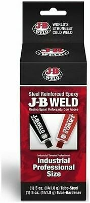 J-B Weld 8280 Industrial Cold Weld Compound Large (2 - 5 oz. Tubes)