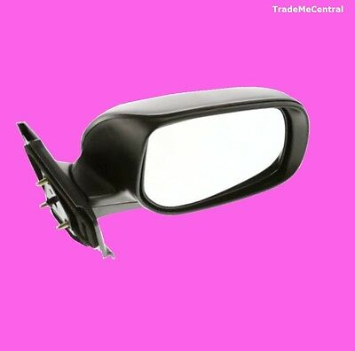 Toyota Yaris NCP90 Black Electric Power Door Mirror Right Hand Driver Side NEW