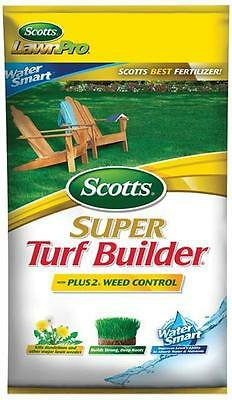 Scotts 3005 Super Turf Builder with Plus 2 Weed Control and Water Smart