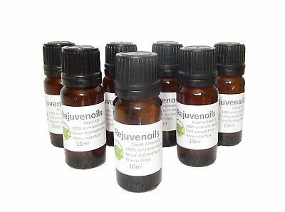 Massage/aromatherapy Pure Essential Oils 10Ml